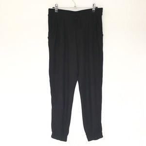 ARITZIA TALULA black chambray pants